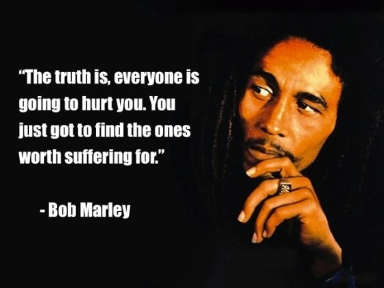 Worth Suffering By Bob Marley The Scribblers Dogma